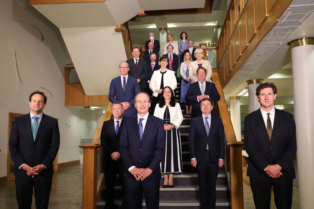 New Irish Cabinet